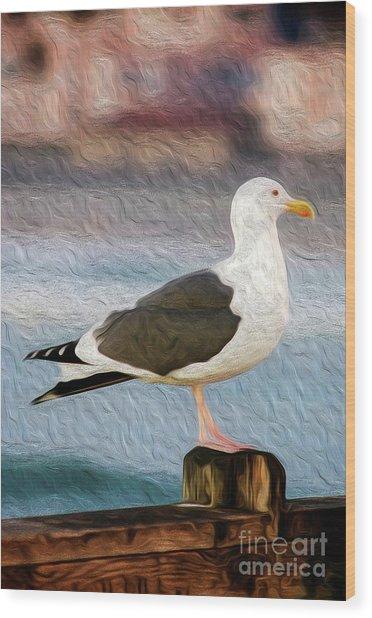 A Bird's Eye View Wood Print