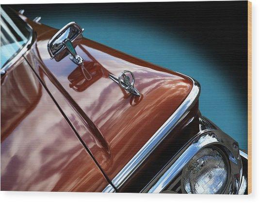 A New Slant On An Old Vehicle - 1959 Edsel Corsair Wood Print