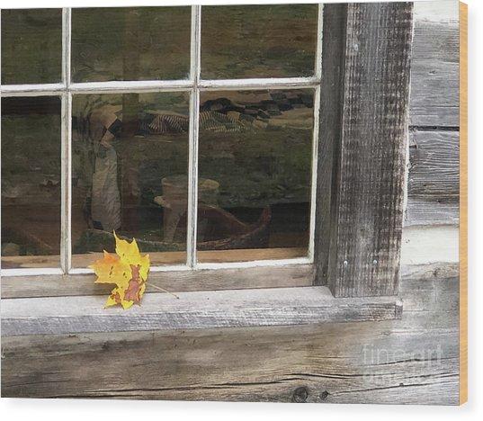 A Thoughtful Moment  Wood Print