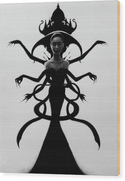 Abdesium - Artwork Wood Print
