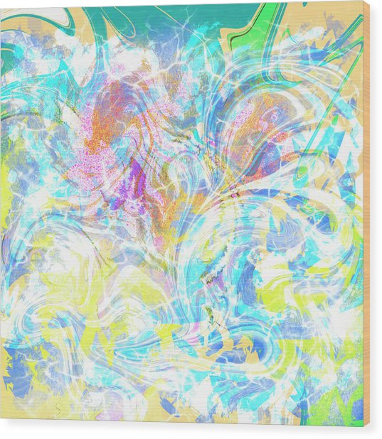 Abs Art 10november2018 Wood Print