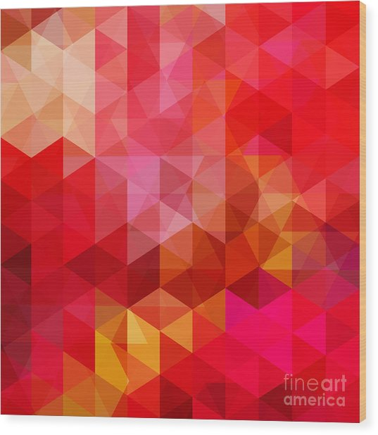 Abstract Background Consisting Of Red Wood Print