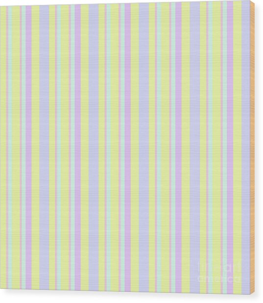 Abstract Fresh Color Lines Background - Dde595 Wood Print