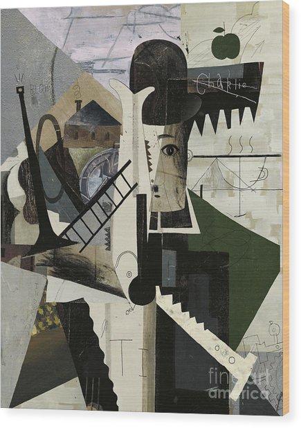 Abstract Image Of Charlie Wood Print
