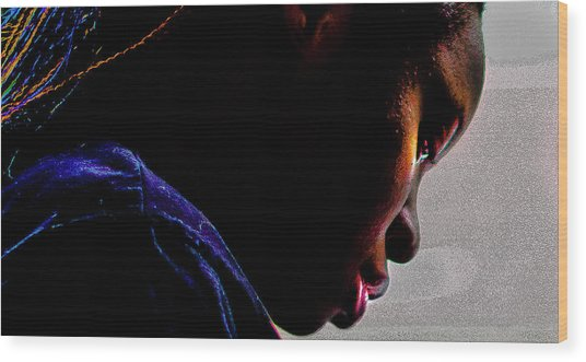 Adeola Oladimeji Wood Print