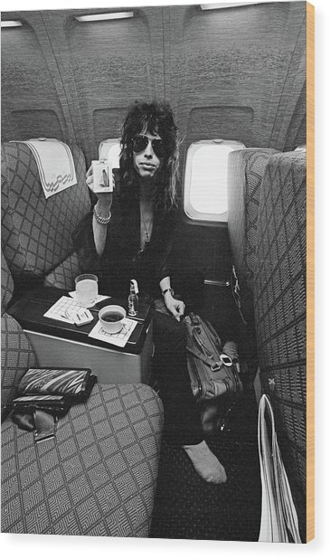 Aerosmith In Flight Wood Print
