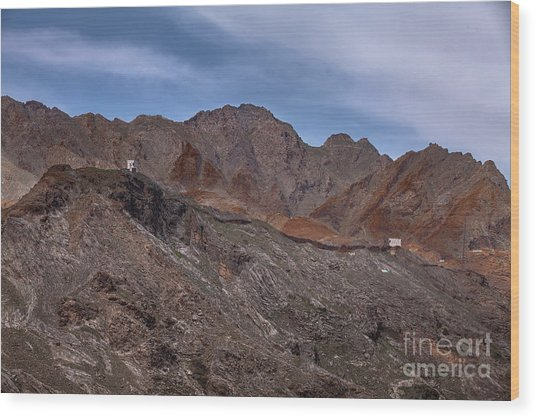 Wood Print featuring the photograph Afghanistan Border by Awais Yaqub
