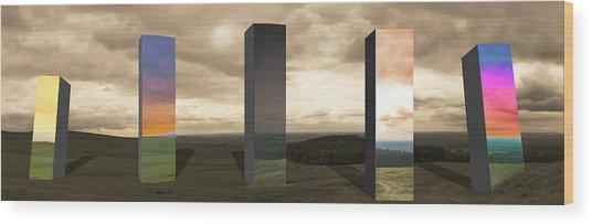 Alternate Realities Wood Print
