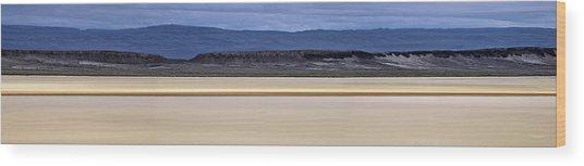 Alvord Panoramic 2 Wood Print by Leland D Howard