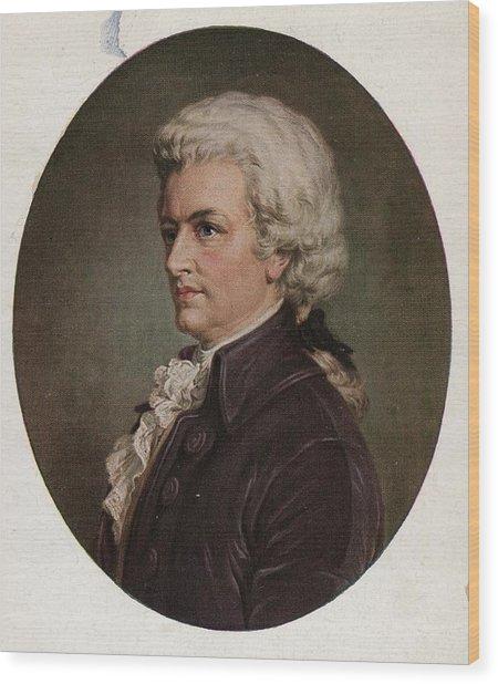 Amadeus Wood Print by Hulton Archive