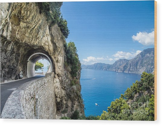 Amalfi Coast, Italy Wood Print