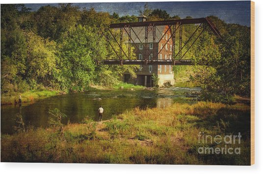 Ammerman Mill Wood Print