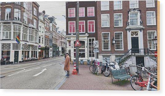 Amsterdam Pride Wood Print