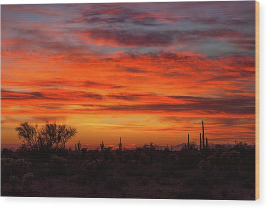 An Arizona Sky Wood Print