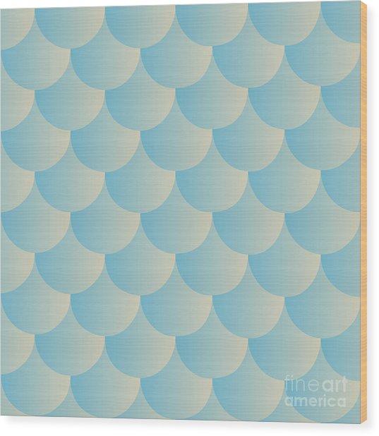 Animal Print. Fish Scales. Fish Skin Wood Print