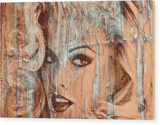 Anna 4 Real Wood Print