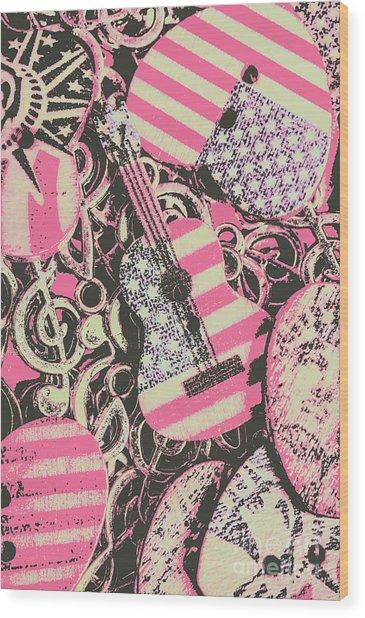 Anthems Of America Wood Print