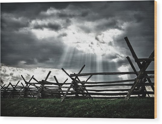 Antietam Battlefield Wood Print