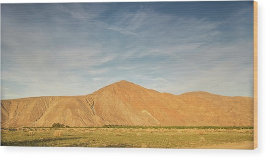 Anza Borrego Sunset Wood Print