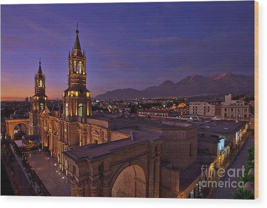 Arequipa Is Peru Best Kept Travel Secret Wood Print