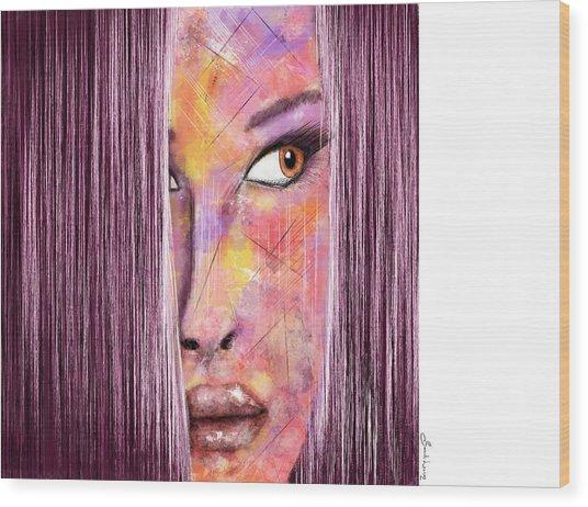 Arizona Sunrise Wood Print