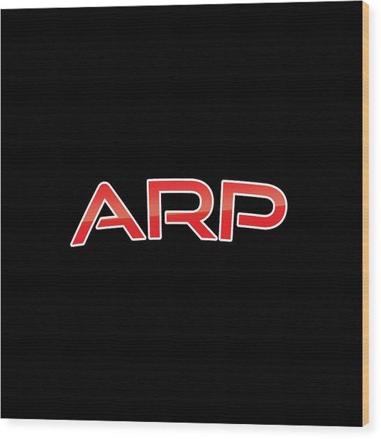 Arp Wood Print