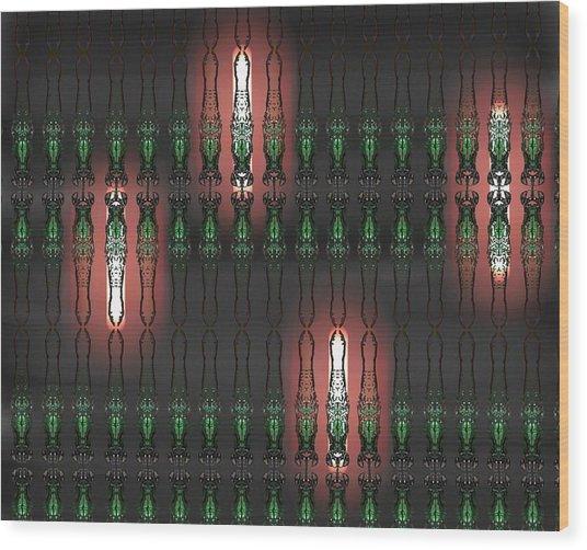 Art Deco Design 14 Wood Print