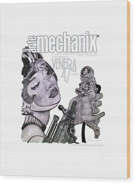 arteMECHANIX 1902 VENERA47 Pt.2 GRUNGE Wood Print