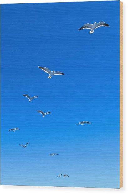 Ascending To Heaven Wood Print
