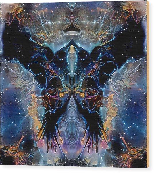 Astral  Wood Print