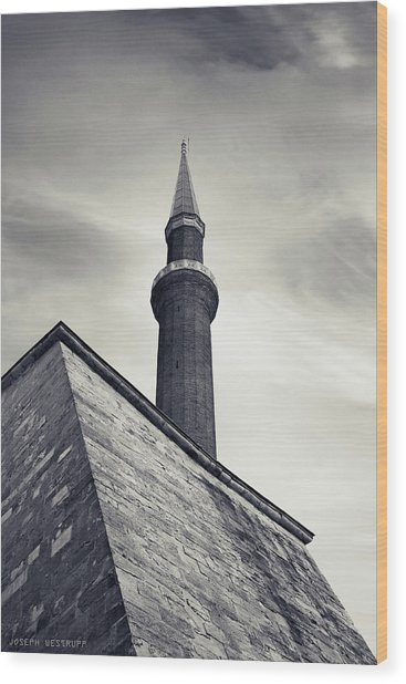 At Mosque-point Wood Print