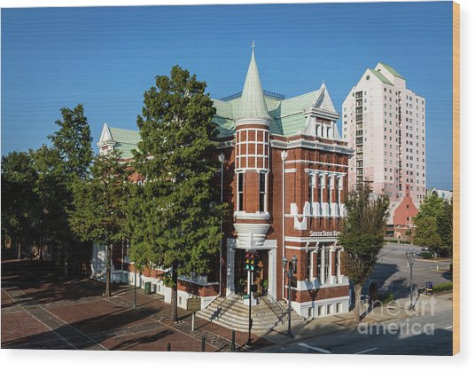 Augusta Cotton Exchange - Augusta Ga Wood Print