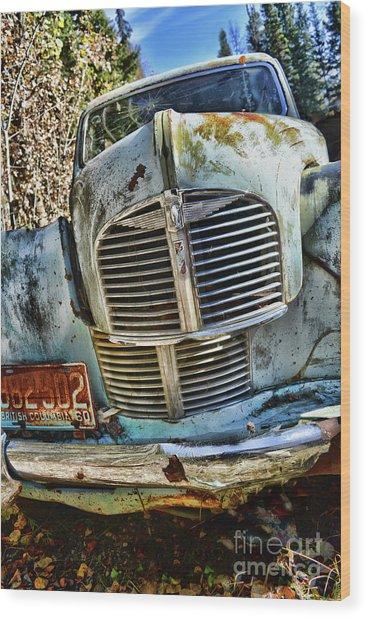 Austin A40 Wood Print