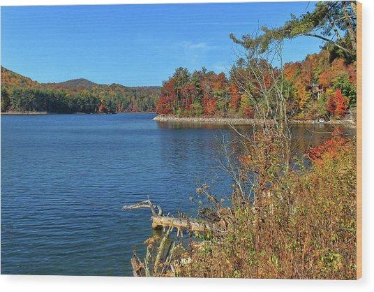 Autumn In North Carolina Wood Print