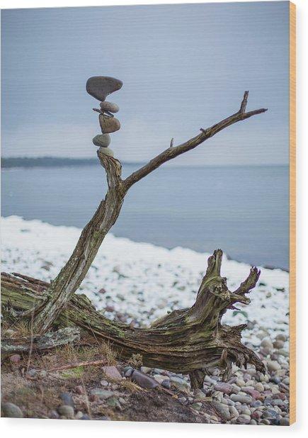 Balancing Art #29 Wood Print