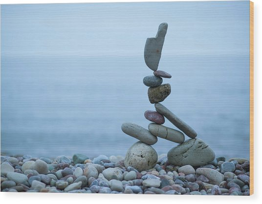 Balancing Art #32 Wood Print
