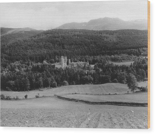 Balmoral Castle Wood Print by Fox Photos