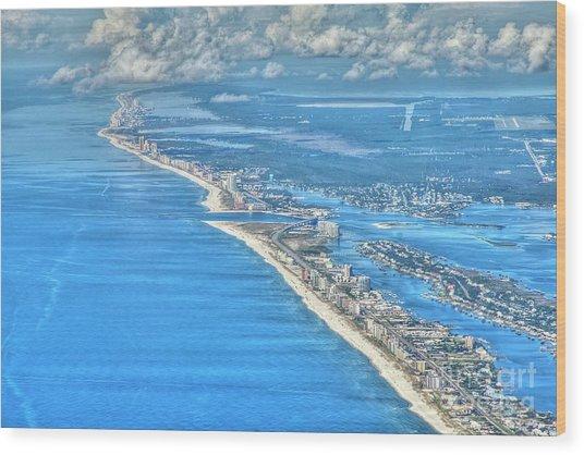 Beachmiles-5137-tonemapped Wood Print