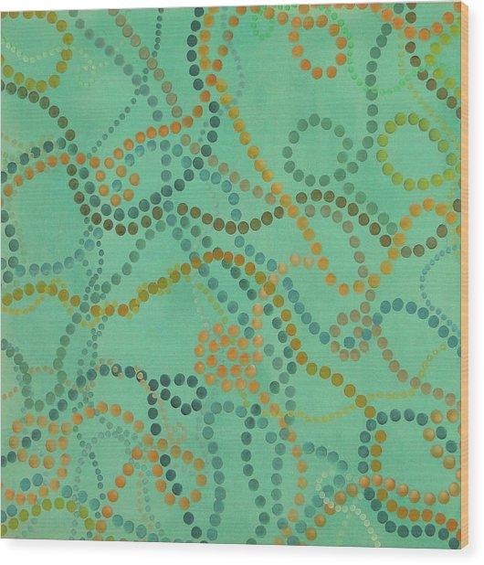 Beads - Under The Ocean Wood Print