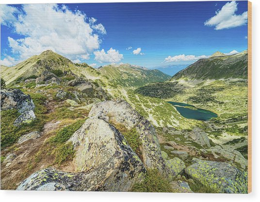 Beautiful Landscape Of Pirin Mountain Wood Print