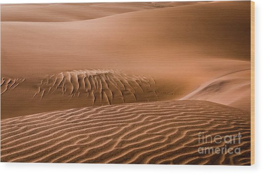 Beautiful Namib Desert 2 Wood Print