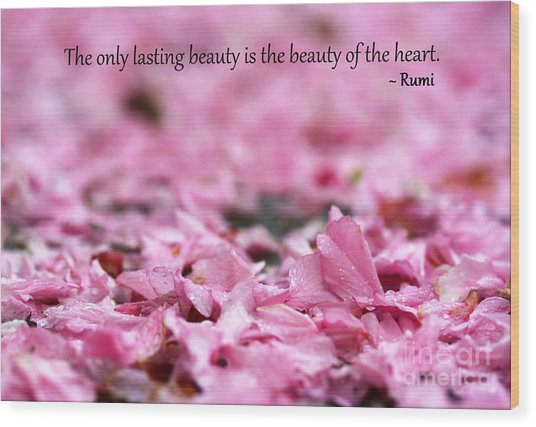 Wood Print featuring the photograph Beauty Fades by Patti Whitten