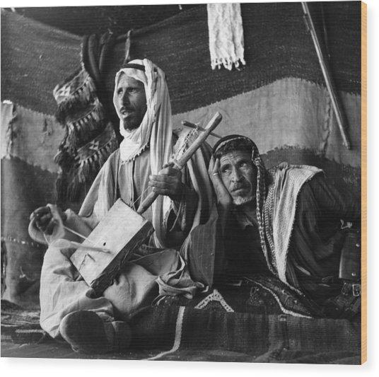 Bedouin Arabs Wood Print by Three Lions