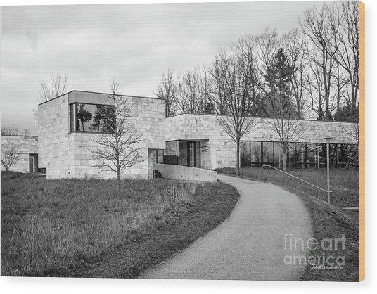 Bennington College Center For Advancement Of Public Action Wood Print