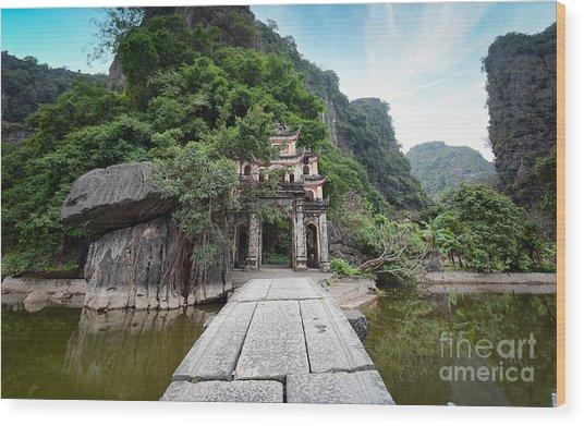 Bich Dong Pagoda In Ninh Binh, Vietnam Wood Print