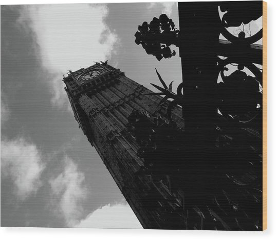 Wood Print featuring the photograph Big Ben by Edward Lee
