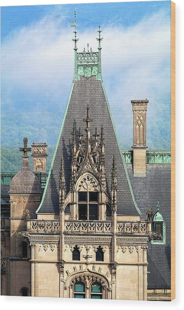 Biltmore Architectural Detail  Wood Print