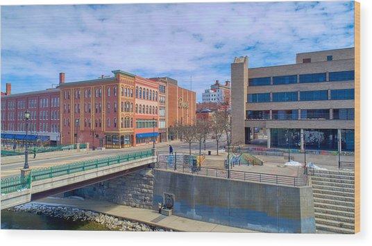Binghamton Art Wood Print