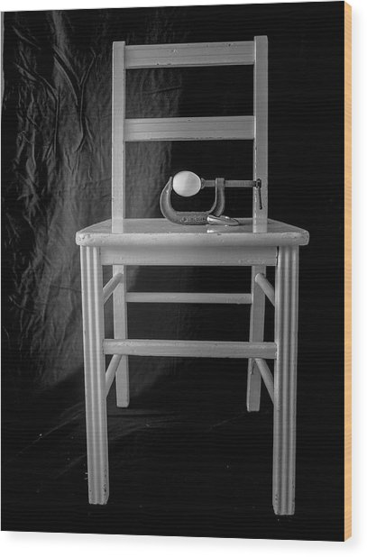 Bird / The Chair Project Wood Print