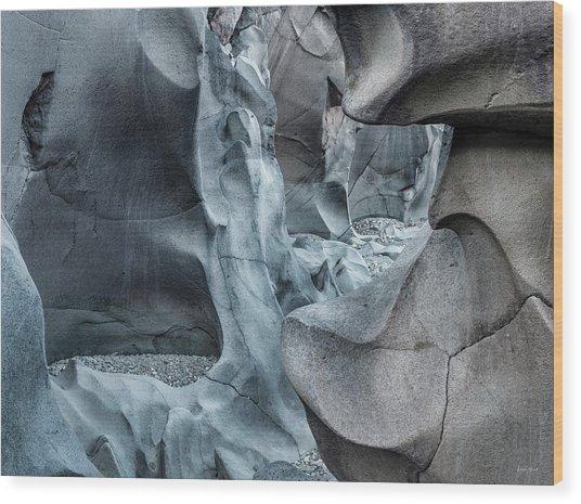 Black Magic Canyon 10b Wood Print by Leland D Howard